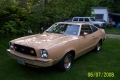 Lucien Boutin 1978 Mustang II 2+2