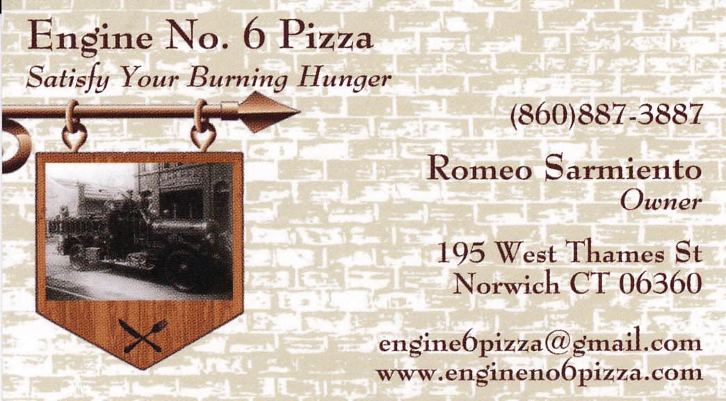 engine no. 6 pizza