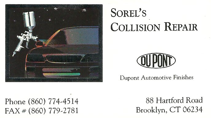 sorels collision repair
