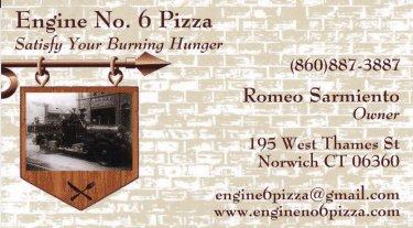 engine 6 pizza