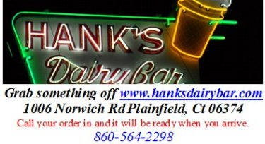 hanks dairy bar