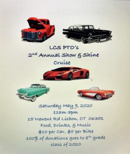 Postponed: Lisbon Central School 2nd Annual Show & Shine @ Lisbon Central School | Lisbon | Connecticut | United States