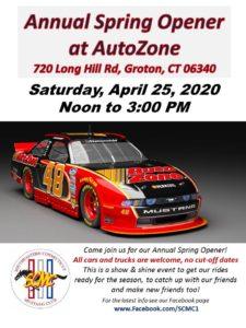 Canceled: Auto Zone Season Opener @ Auto Zone | Groton | Connecticut | United States
