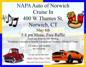 Canceled: NAPA of Norwich Cruise-In @ NAPA Auto Parts | Norwich | Connecticut | United States