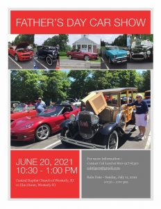 Central Baptist Church Father's Day Car Show @ Central Baptist Church | Westerly | Rhode Island | United States